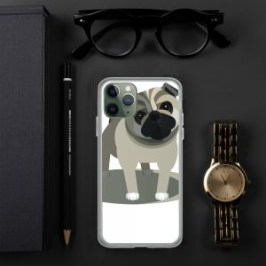 Pug - iPhone Case